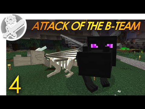 Minecraft: THE DRAGONS HATCH! Attack Of The B-Team Modded Survival (4)
