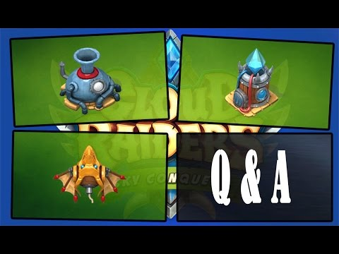 Cloud Raiders - Q&A: Diamond Forge, Cloud Funnel, Dragonfly Mine