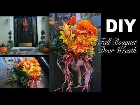 DIY | Fall Bouquet Wreath