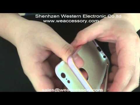 China factory distributor wholesale 2 in 1 iphone 6 bumper case and back cover