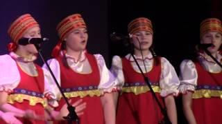 """Детские коллективы народной песни """"Забава""""и """"Задоринки"""". г.Полесск"""