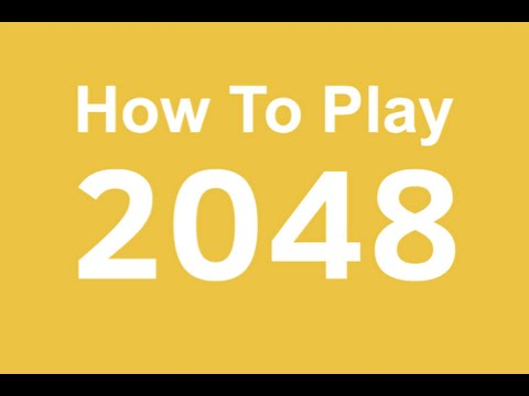 How to play 2048. Tips and Tricks. Beating 2048. 2048 strategy