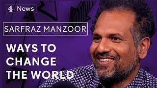 Sarfraz Manzoor on the power of film, Bruce Springsteen and fighting class entitlement