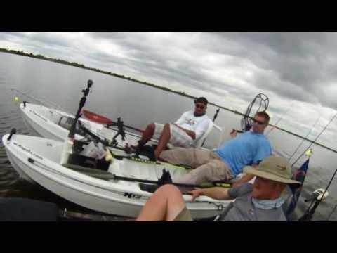 Louisiana Redfish Kayak Fishing