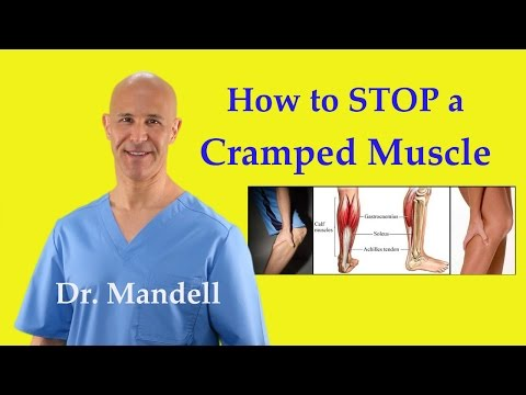 How to STOP a Cramped Muscle Fast (Reciprocal Inhibition Technique) - Dr Mandell