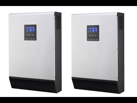 MPP Solar Inverter Charger PIP 4048MS. Installing the parallel board