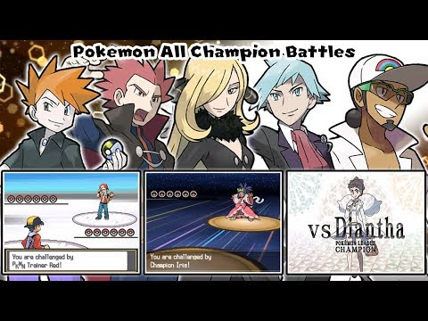 Pokemon Champion Medley: All Battles Themes【Highest Quality】