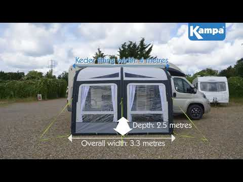 Kampa  Motor Rally AIR 330 Pro  Overview