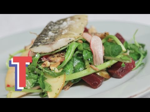 Mackerel & Beetroot Salad With Maple Vinaigrette | Feed My Friends 3