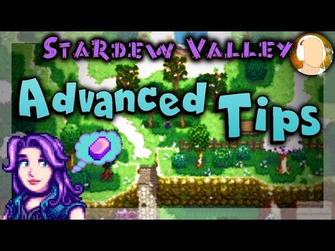 Stardew Valley - ADVANCED TIPS | How to Make Money and Iridium Guide