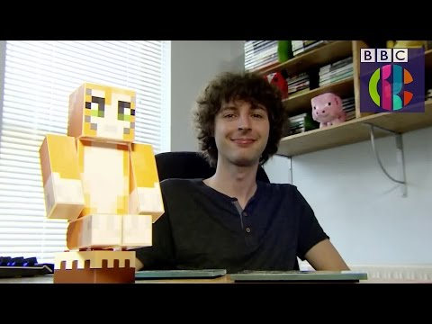 Stampy in real life Minecraft Interview on Dick and Dom's Appsolute Genius CBBC