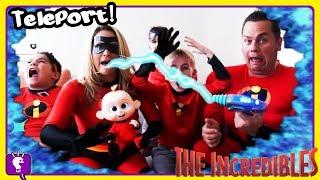 INCREDIBLES TELEPORT POWER! Mystery Adventure Part 6 by HobbyKidsTV