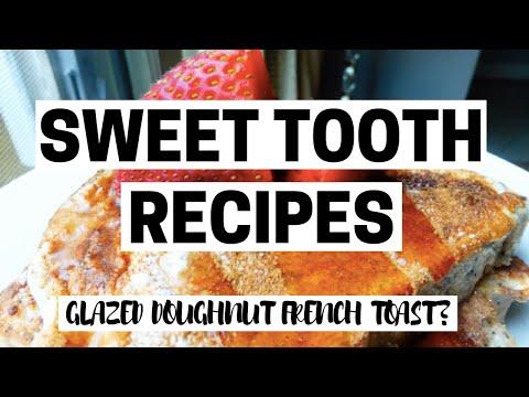 GLAZED DOUGHNUT FRENCH TOAST?! | Healthy Protein Recipes | Bikini Prep Ep08: 5 Weeks Out