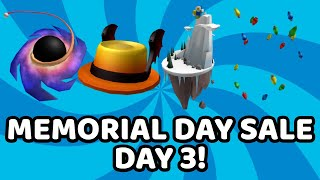 ROBLOX MEMORIAL DAY SALE 2020 DAY 3!