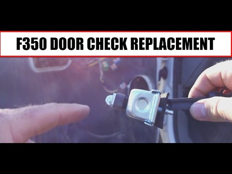 2006 Ford F350 - How to replace the Door Check on the Truck
