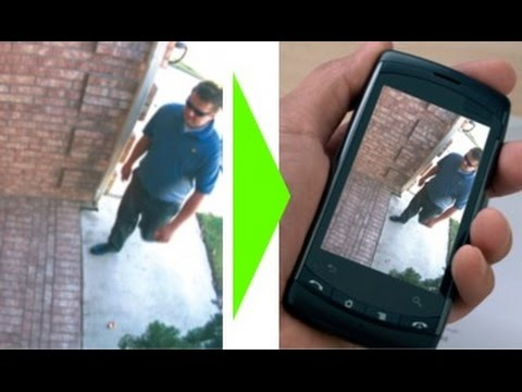 Use your old phone as a cctv camera or as a webcam