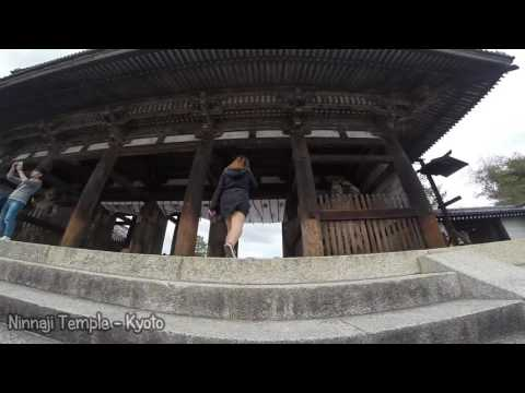 Tokyo, Osaka, Kyoto and Kobe (Japan) Trip 2016 GoPro Hero 3+
