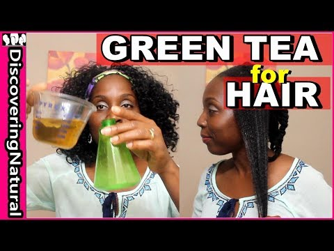 Green Tea for Hair Loss, Shedding, Hair Growth