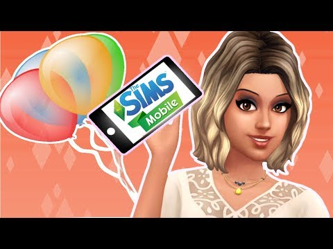 The Sims Mobile // Birthday Party 📱