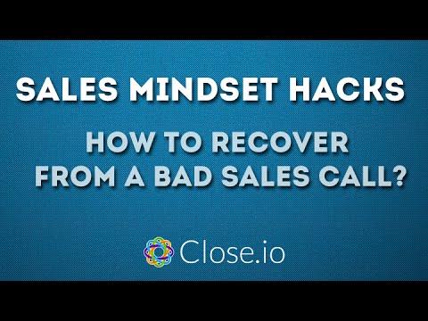 Sales Mindset: