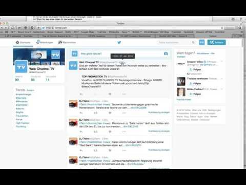 Tutorial - Twitter SEO - How To Get A Twitter ReTweet URL