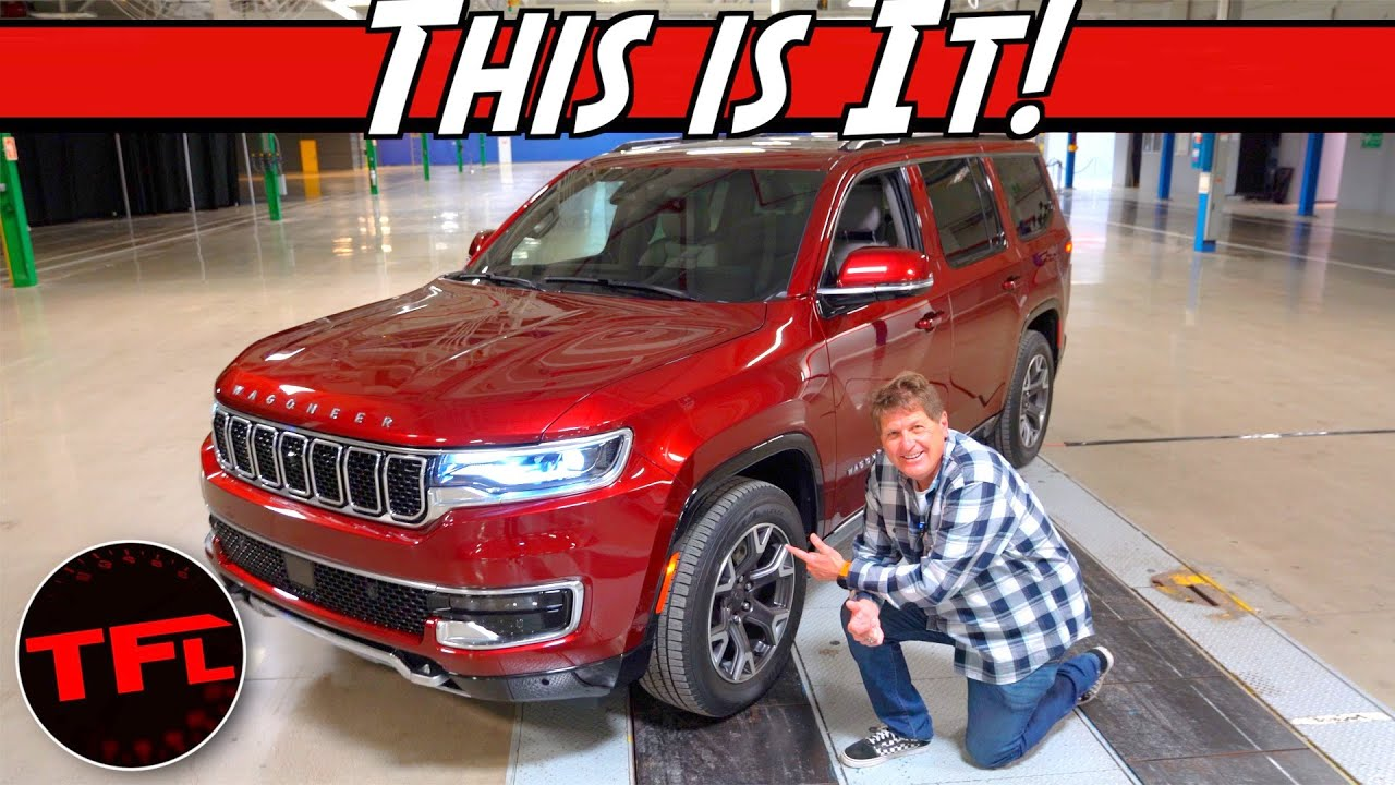 2022 Jeep Wagoneer Premiere: We Get Hands-On With The Return Of Jeep's Largest And Most Iconic SUV!