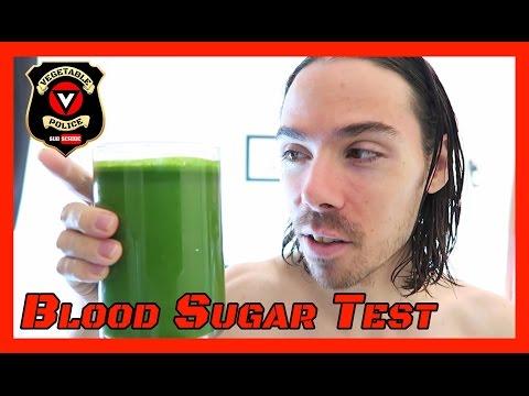 Blood sugar test. Fruit vs Fruit Juice vs Vegetable Juice = Diabetes?