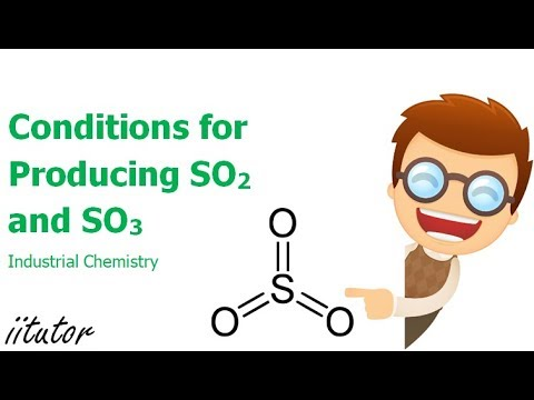 √ Conditions for Producing SO2 and SO3 | Industrial Chemistry | iitutor