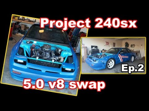 Tearing apart my 240sx   s13 Budget Build EP 2