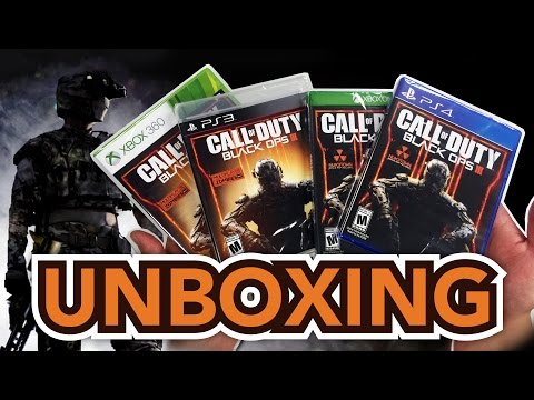 Call of Duty: Black Ops III (3) (PS4 / Xbox One / PS 3 / Xbox 360) Unboxing!!