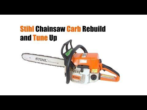 Stihl Chainsaw Complete Tune Up w/ Carb Rebuild