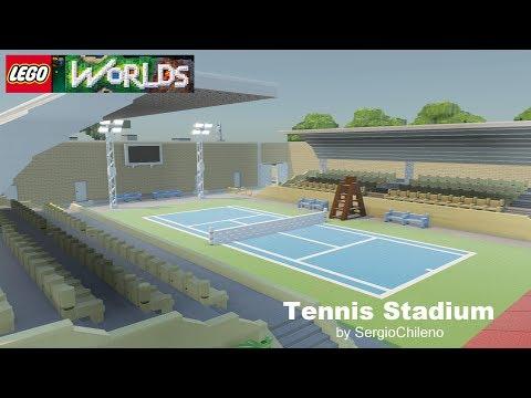 Lego Worlds - Tennis Stadium