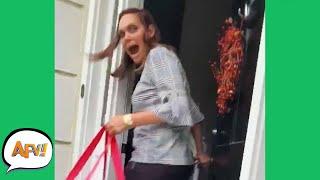 Tis the Season to Be SCREAMIN'! 😱😂   Funny Pranks & Fails   AFV 2020