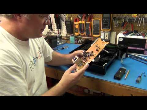ToddFun.com: Repairing a 5 disk CD player