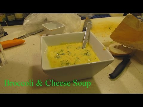Panera's Broccoli and Cheese Soup