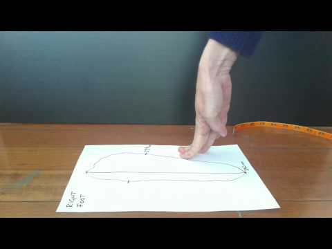 How to measure your feet for custom made shoes