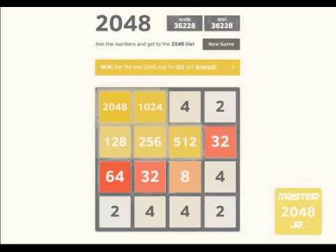 [2048] Simple Tricks to win 2048, 4096 and 8192