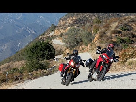 Tested To The Limit!: BMW S1000XR vs. DUCATI MULTISTRADA 1200 S | ON TWO WHEELS