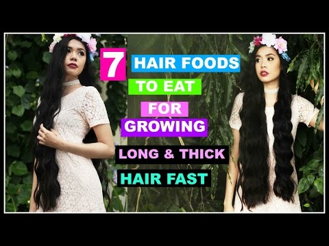 7 HAIR FOODS To Eat For Growing Thick and Long Hair Fast-Beautyklove