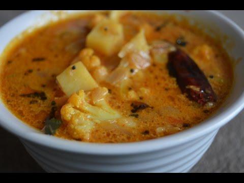 Cauliflower Potato|Aloo Gobi Masala - for Rice/Tiffin items(in Tamil with English subtitles)