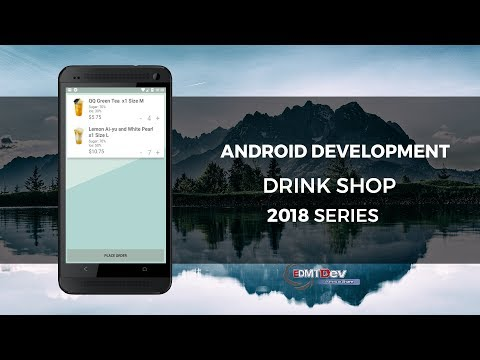 Android Development Tutorial - Drink Shop App part 11 Load Cart Items