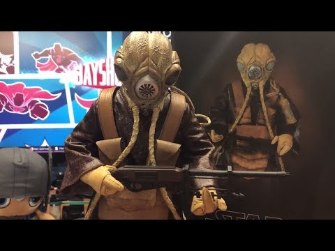 Sideshow Collectibles Zuckuss 1/6 Scale Star Wars Figure Unboxing