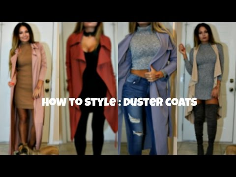 42e937e36f56e How To Style  Duster Coats   Long Coats   Trench Coats