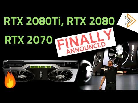 Nvidia RTX 2080Ti, 2080, 2070 GPUs Launched - FULL DETAIL Specs, Price and Availability [in HINDI]