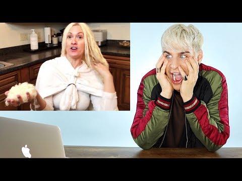 HAIRDRESSER REACTS TO EXTREME BLEACH FAIL! (SO MUCH BREAKAGE!) | bradmondo