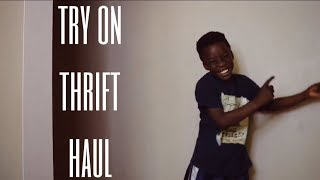 Zachs Thrift Try On Haul