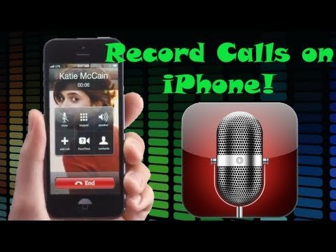 How to Record Calls on iPhone (Free no Jailbreak Required)