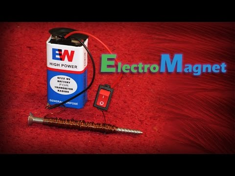 How to Make An Electromagnet - Science Project