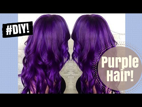 DYEING MY HAIR PURPLE | AT-HOME TUTORIAL