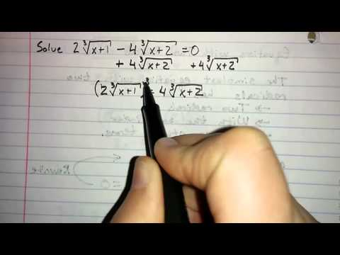 5.6.4 - Equations with Two Radicals